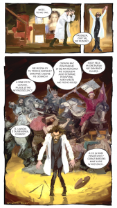 matejko komiks wystawa w Budapeszcie
