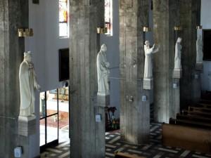 rocznica uchodźctwa polskiego na Węgrzech - kościół i tablice pamiątkowe