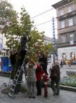 Polacy na ulicach Budapesztu