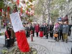 Polacy świętują na ulicach Budapesztu