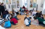 polskie dzieci tworzą wystawę w Budapeszcie