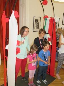 Polacy w Budapeszcie w czasie gry rodzinnej