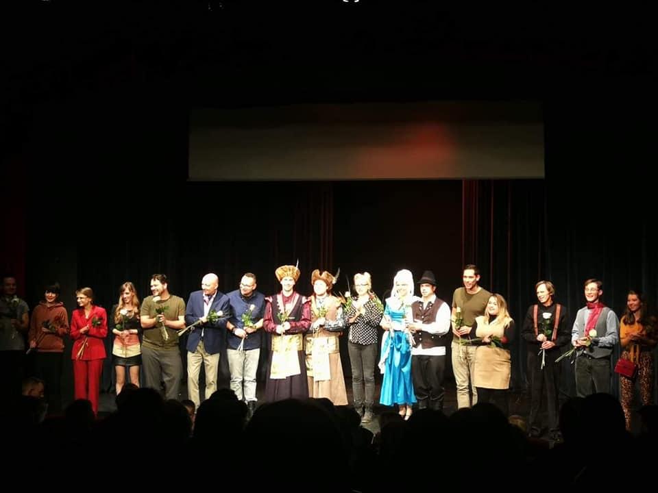przedstawienie teatralne Polonia Nova w Budapeszcie