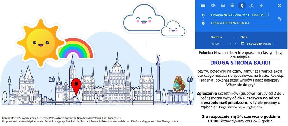 polska gra miejska w Budapeszcie - impreza Polonia Nova