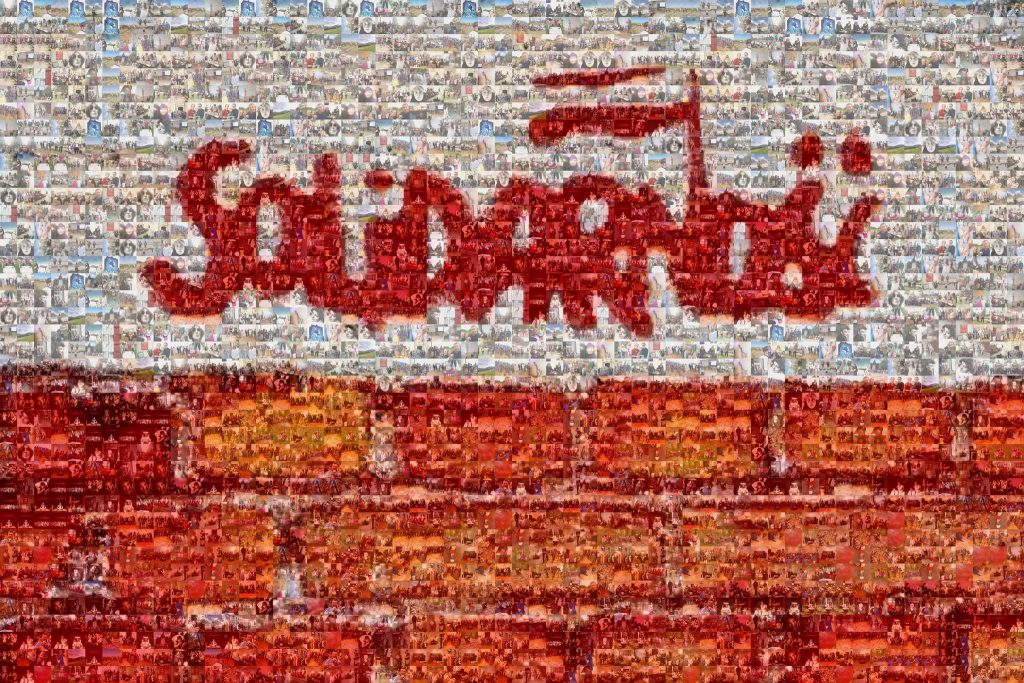 Solidarność - mozaika Polonia Nova w Budapeszcie