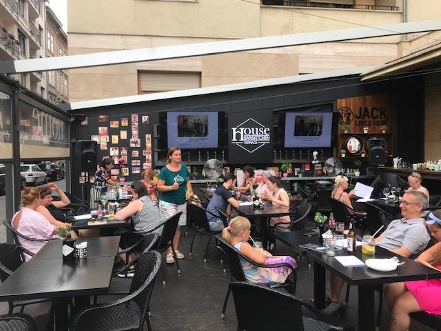 40 lat Solidarności - pub quiz Polonia Nova w Budapeszcie