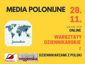 warsztaty dziennikarskie Polonia Nova w Budapeszcie