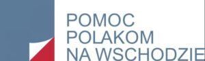 Pomoc Polakom na Wschodzie - logo organizacji współpracującej z Polonia Nova