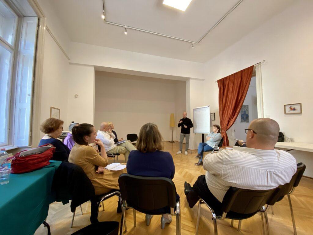warsztaty w Budapeszcie - organizacja wystaw