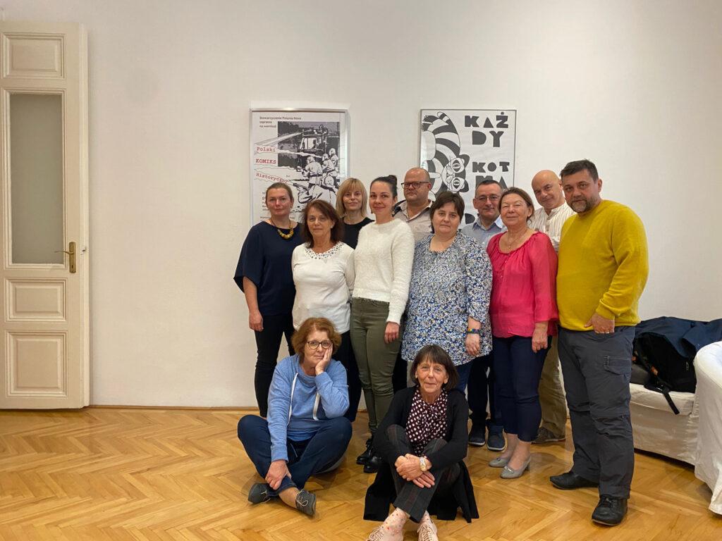 warsztaty animatorów kultury - Budapeszt