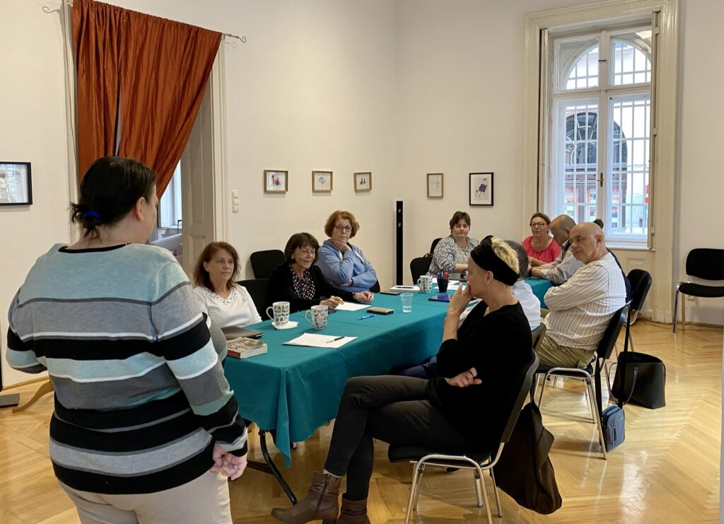 warsztaty animacji kultury w Budapeszcie