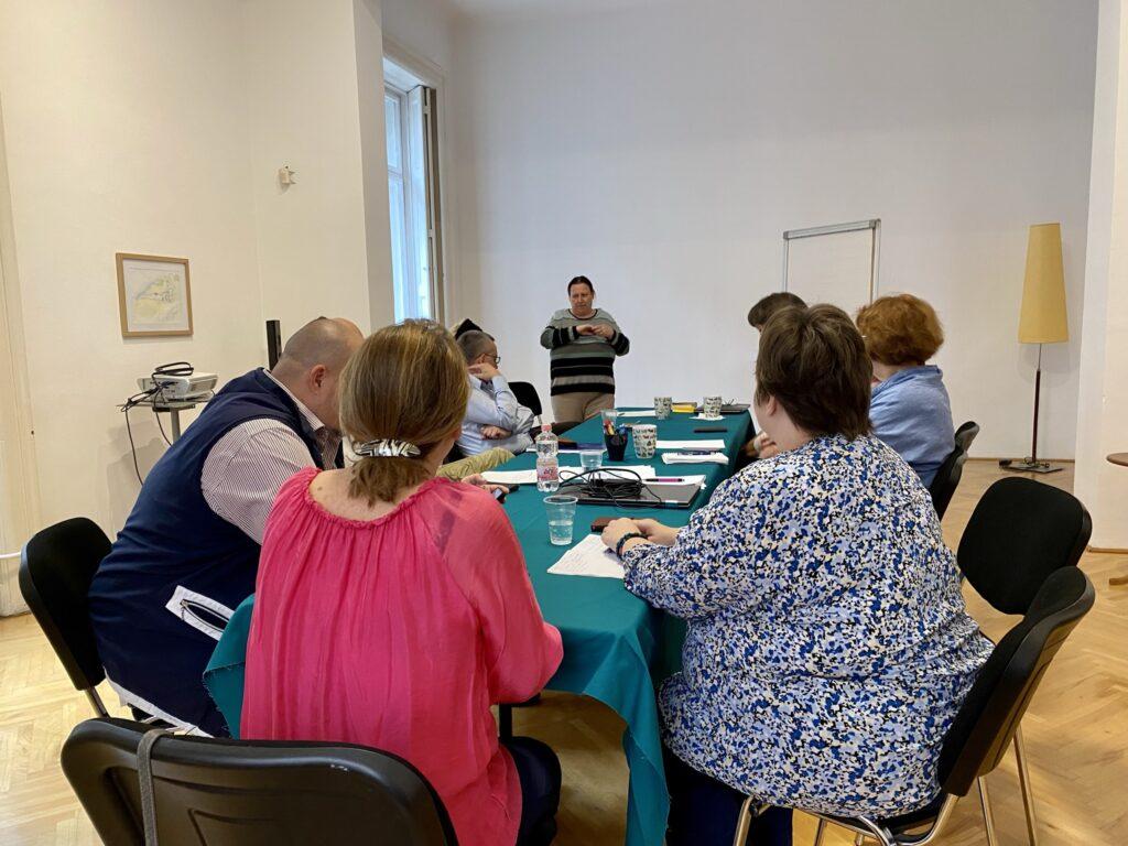 planowanie wydarzeń kulturalnych - warsztaty Budapeszt