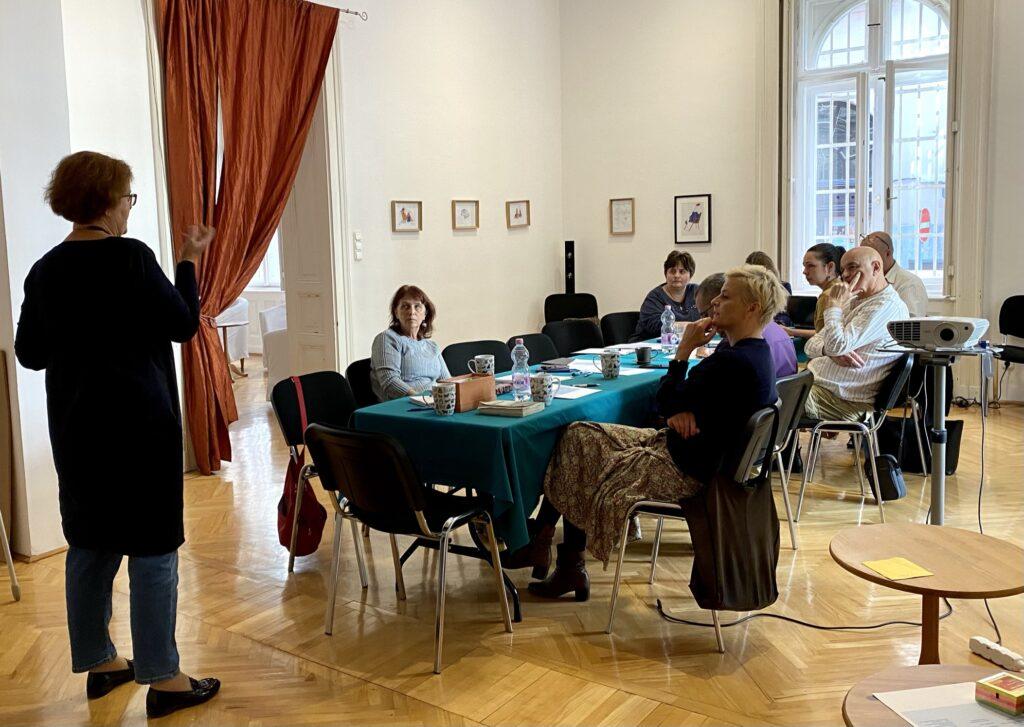 animacja kultury polonijnej - warsztaty w Budapeszcie